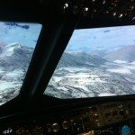 In airbus simulator