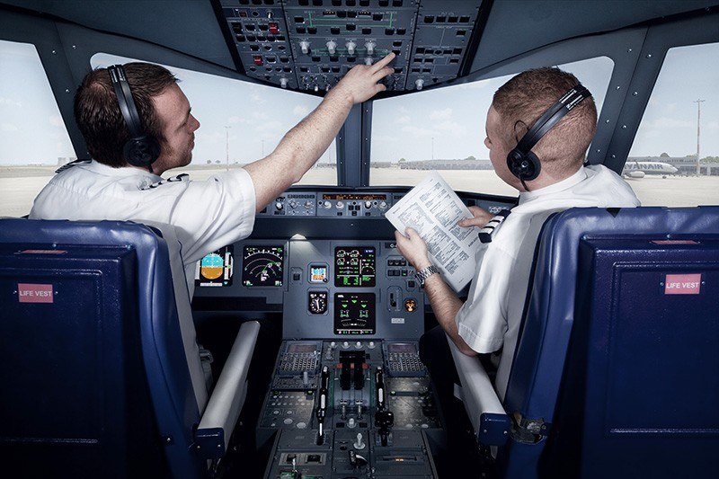 Airbus simulator